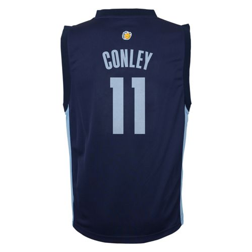 adidas Boys' Memphis Grizzlies Michael Conley No. 00 Replica Road Jersey