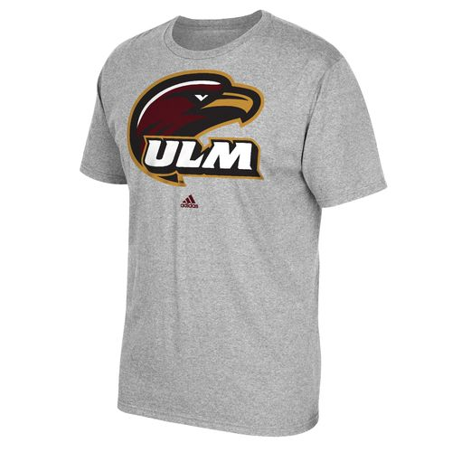 adidas Men's University of Louisiana at Monroe School Logo T-shirt