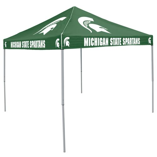 Logo Michigan State University Straight-Leg 9 ft x 9 ft Color Tent - view number 1