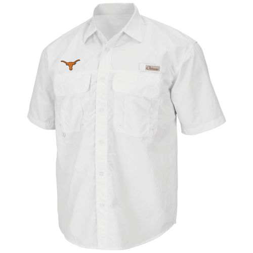 Colosseum Athletics Men's University of Texas Swivel Fishing Shirt