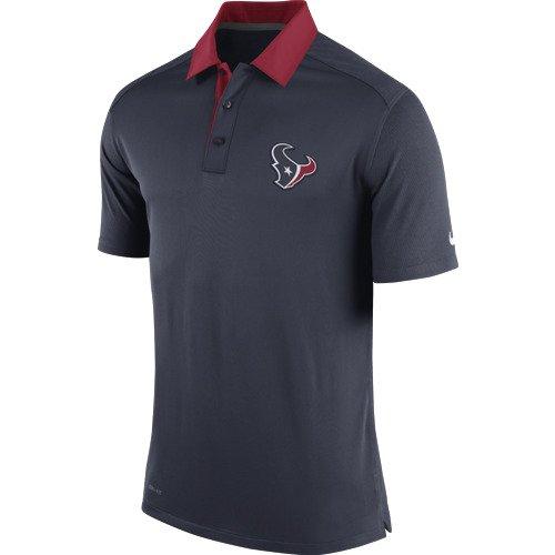 Nike men 39 s houston texans elite coaches polo shirt academy for Houston texans polo shirt