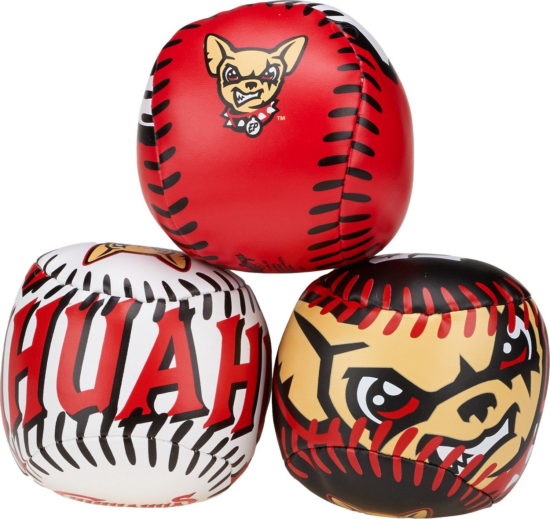Rawlings® El Paso Chihuahuas Softee Balls 3-Pack