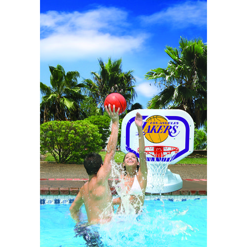 Poolmaster® Los Angeles Lakers Competition Style Poolside Basketball Game - view number 2