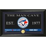 The Highland Mint Toronto Blue Jays Man Cave Bronze Coin Photo Mint