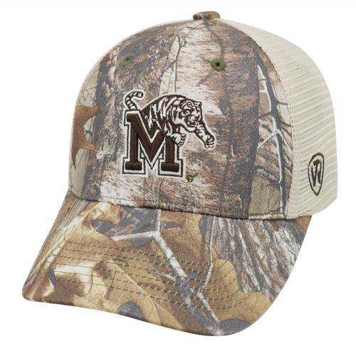 Top of the World Adults' University of Memphis Prey Cap