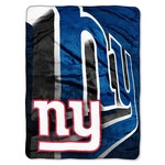 The Northwest Company New York Giants Bevel Micro Raschel Throw