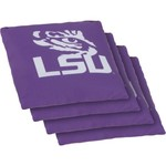Wild Sports Louisiana State University Regulation Bean Bags 4-Pack