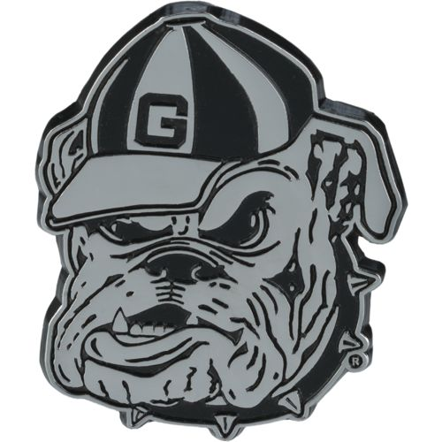 Stockdale University of Georgia Chrome Freeform Auto Emblem