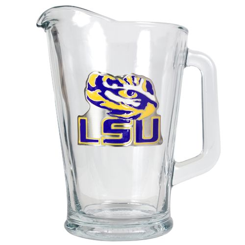 Great American Products Louisiana State University 1/2-Gallon Glass Pitcher