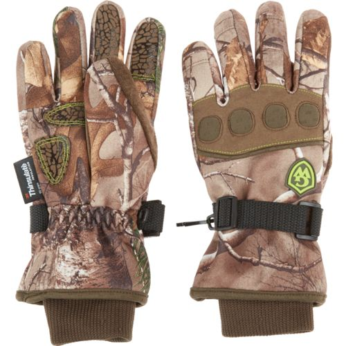 Game Winner® Kids' Realtree Xtra® Camo Heavyweight Gloves