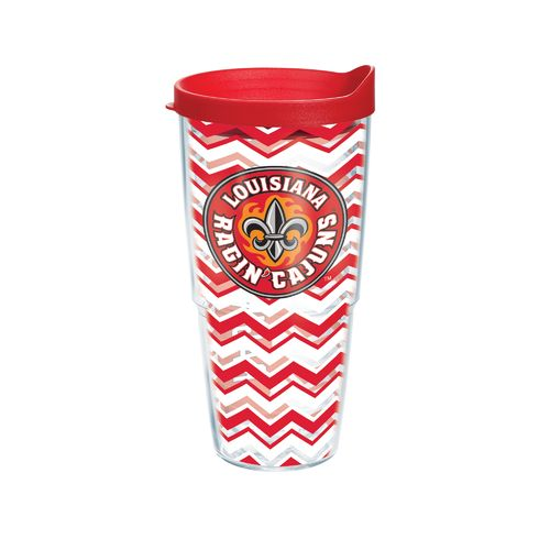 Tervis University of Louisiana at Lafayette 24 oz. Chevron Tumbler with Lid