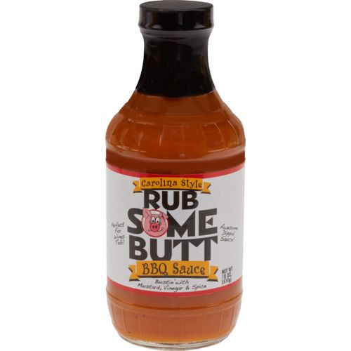 Display product reviews for Rub Some Butt Carolina BBQ Sauce