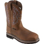 Brazos® Men's Bandero Square Toe Wellington Work Boots - view number 2