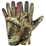 Hot Shot® Women's Bronco XSF Mossy Oak Infinity® Stretch Fleece Gloves