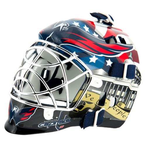 Franklin NHL Team Series Washington Capitals Mini Goalie Mask - view number 1