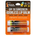 Dead Down Wind e2 SPF 30 Sunscreen Odorless Lip Balms 2-Pack