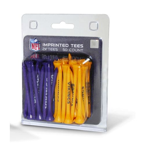 Team Golf Minnesota Vikings Golf Tees 50-Pack