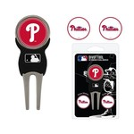 Team Golf Philadelphia Phillies Divot Tool and Ball Marker Set - view number 1
