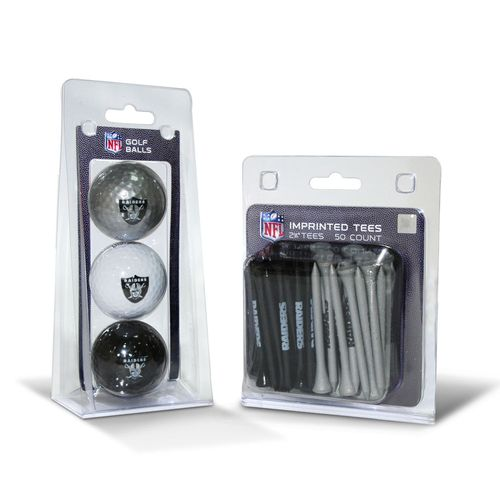 Team Golf Oakland Raiders Golf Balls and Tees Set - view number 1