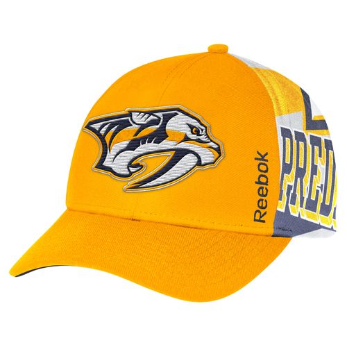 Reebok Men's Nashville Predators Center Ice® Structured Adjustable Cap