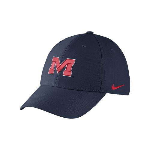 Nike™ Adults' University of Mississippi Swoosh Flex Cap
