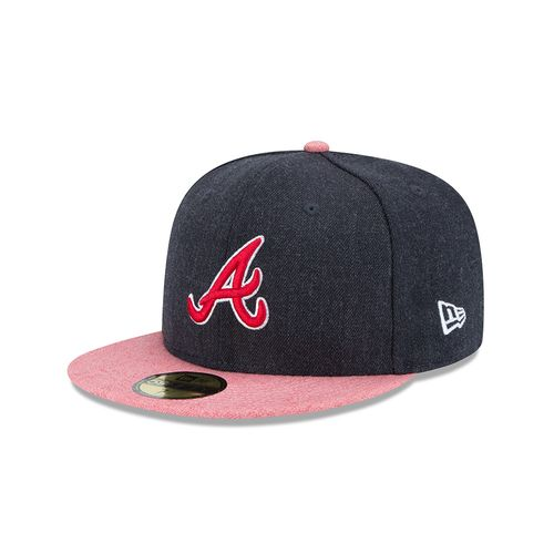 New Era Men's Atlanta Braves Heather Action 59FIFTY Cap