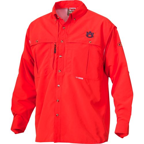 Display product reviews for Drake Waterfowl Men's Auburn University Wingshooter Shirt