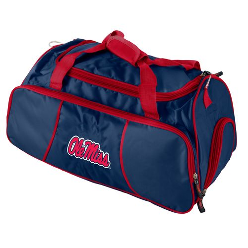 Logo™ University of Mississippi Athletic Duffel Bag