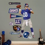 Fathead New York Giants Eli Manning Home Real Big Wall Decal