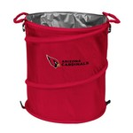 Logo Arizona Cardinals Collapsible 3-in-1 Cooler/Hamper/Wastebasket