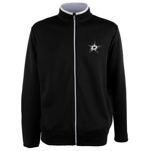 Antigua Men's Dallas Stars Leader Full Zip Jacket