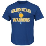 Majestic Men's Golden State Warriors Hardwood Classics Heart and Soul T-shirt