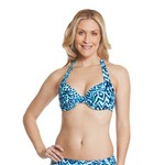 Sweet Escape Women's Madagascar Wild Underwire Bra Swim Top