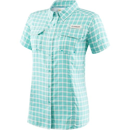 Magellan outdoors women 39 s aransas pass tricolor plaid for Magellan women s fishing shirts