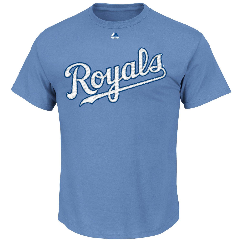 Majestic Men's Kansas City Royals Wordmark Short Sleeve