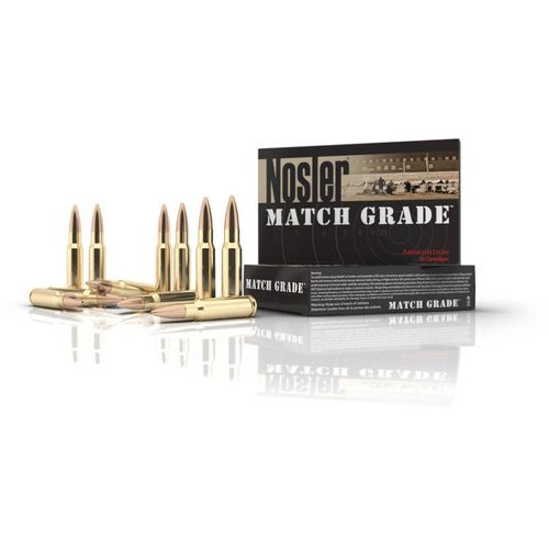 Nosler Trophy MTC .223 Remington/5.56 NATO 60-Grain Centerfire Rifle Ammunition - view number 1