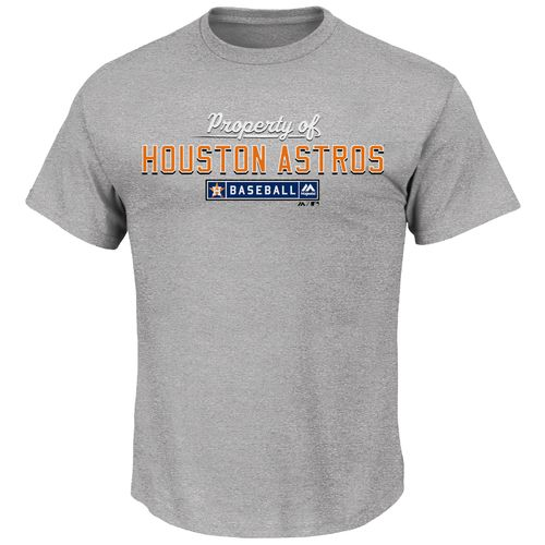 Majestic Men's Property of Houston Astros T-shirt