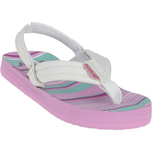 Reef™ Girls' Little Ahi Sandals - view number 2