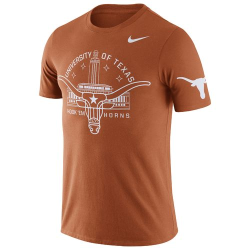 Nike Men's University of Texas ENZ Campus Short Sleeve T-shirt