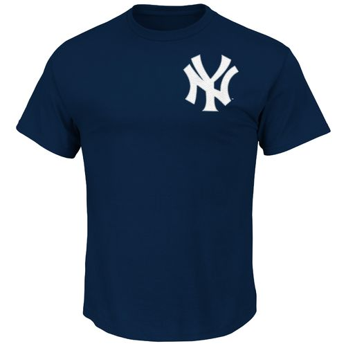 Majestic Men's New York Yankees Jacoby Ellsbury #22 T-shirt - view number 2