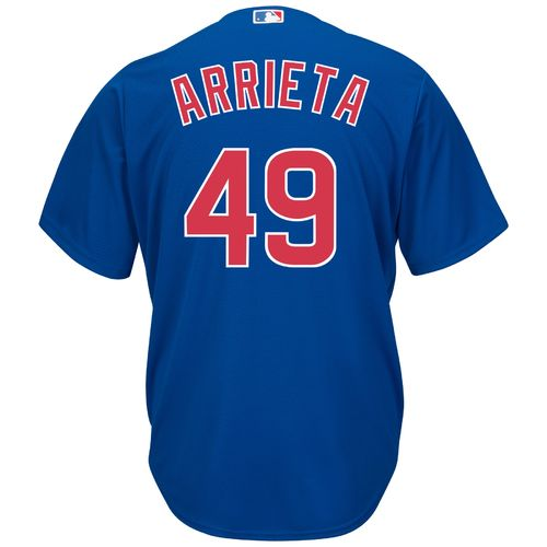 Majestic Men's Chicago Cubs Jake Arrieta #49 Cool Base Replica Jersey