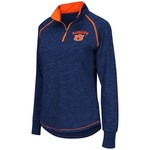 Colosseum Athletics™ Women's Auburn University Bikram 1/4 Zip Pullover