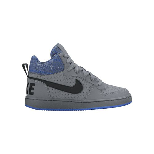 Nike Boys' Court Borough Mid Premium GS Shoes