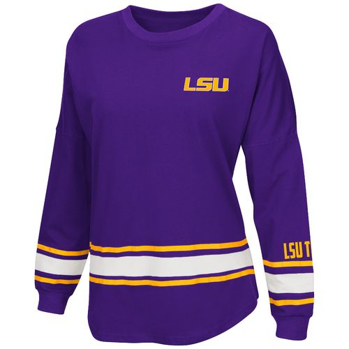 Colosseum Athletics™ Women's Louisiana State University All Around Oversize Long Sleeve T-s