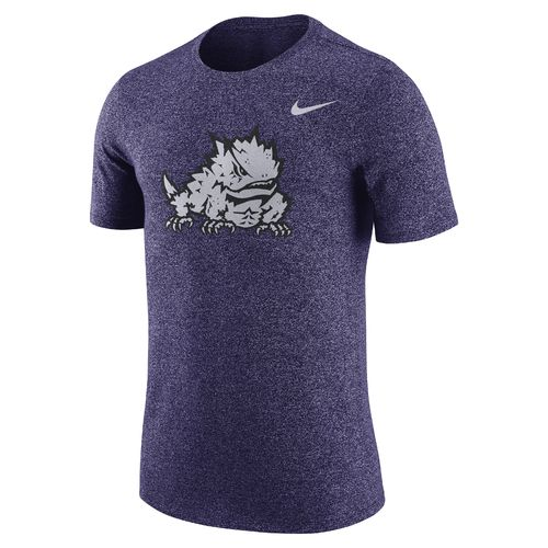 Nike Men's Texas Christian University Marled Logo T-shirt