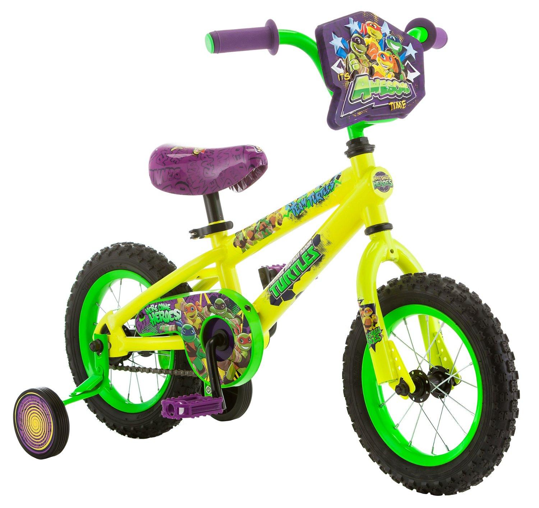 """Teenage Mutant Ninja Turtles Boys' 12"""" Bicycle"""