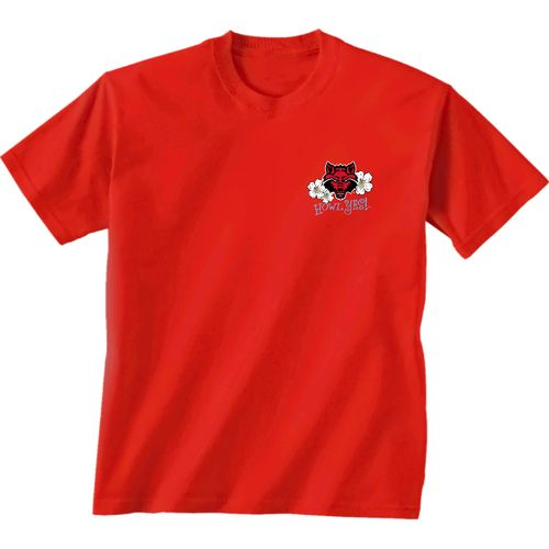 New World Graphics Women's Arkansas State University State Bright Plaid T-shirt - view number 2