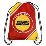Team Beans Houston Rockets Retro Drawstring Backpack