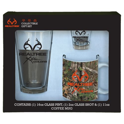 Boelter Brands Realtree Xtra® 3-Piece Glassware Gift Set