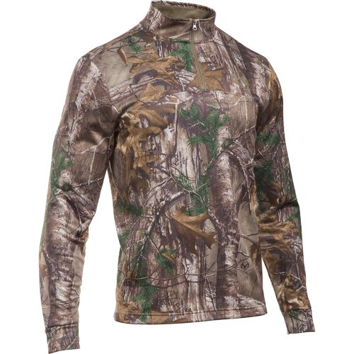 Under Armour™ Men's Franchise Camo 1/4 Zip Pullover